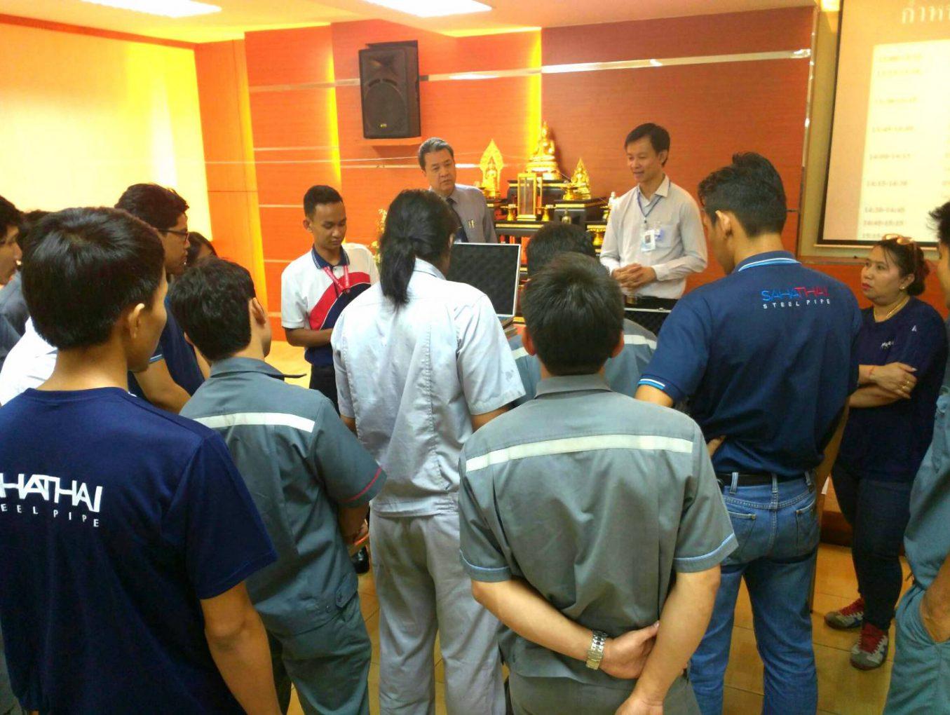 3rd Roadshow Seminar @บริษัท สหไทยสตีลไพพ์ จำกัด (มหาชน)